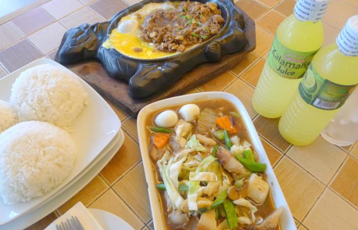 A P500 Meal at Buddy's Pancit Lucban