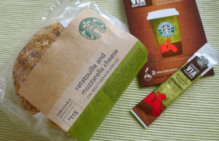 A Veggie Good Breakfast from Starbucks