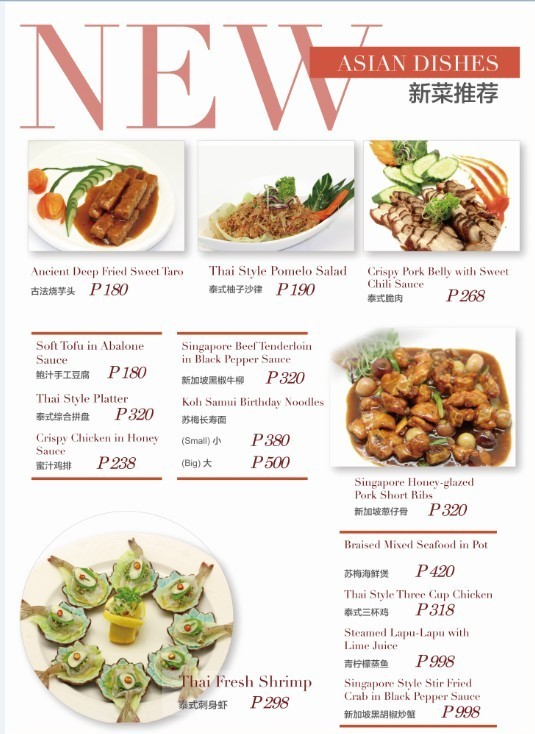 New Asian Dishesb