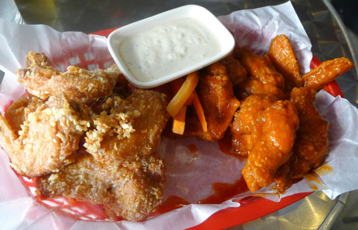 Food Post:  Wingman at The Collective
