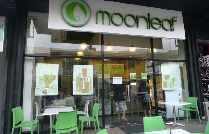 Food Post:  Moonleaf Tea Shop (Ortigas Home Depot)