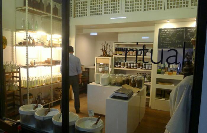 Ritual:  An Organic Grocery Store