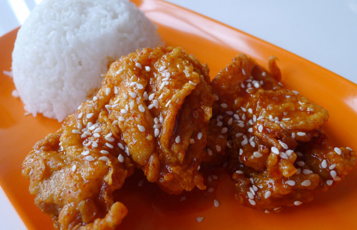 Food Post:  Holdak – the REAL Korean Fried Chicken