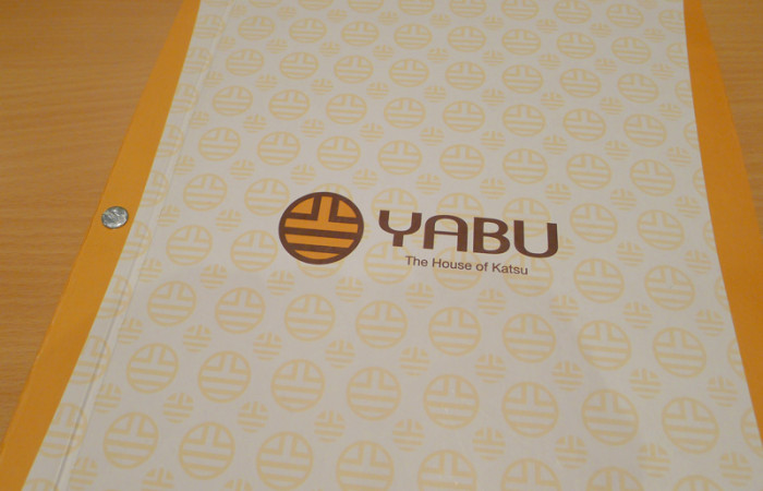 Food Post:  Yabu: House of Katsu