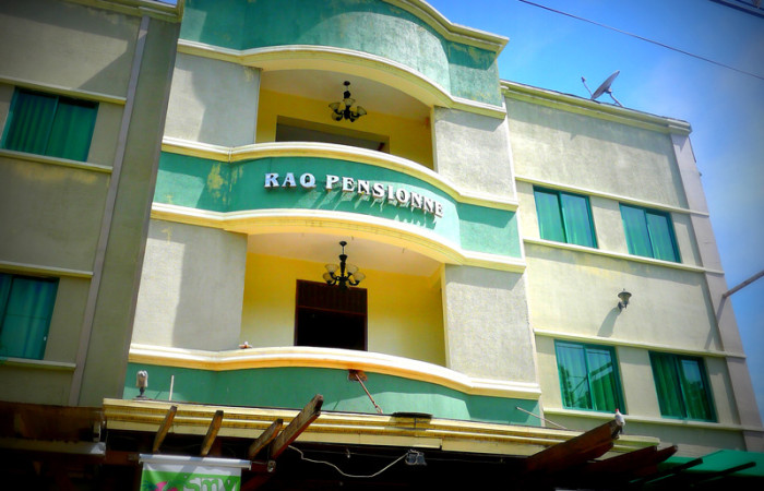 Our Home Away from Home at Puerto Princesa:  RAQ Pensionne