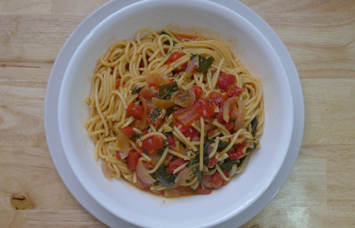The 3-Step Tomato Basil Pasta