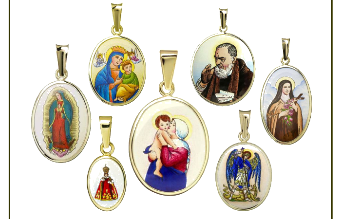 Enamel Faith Pendants