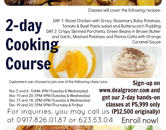 2-Day Cooking Course for a Noche Buena Feast from Global Academy