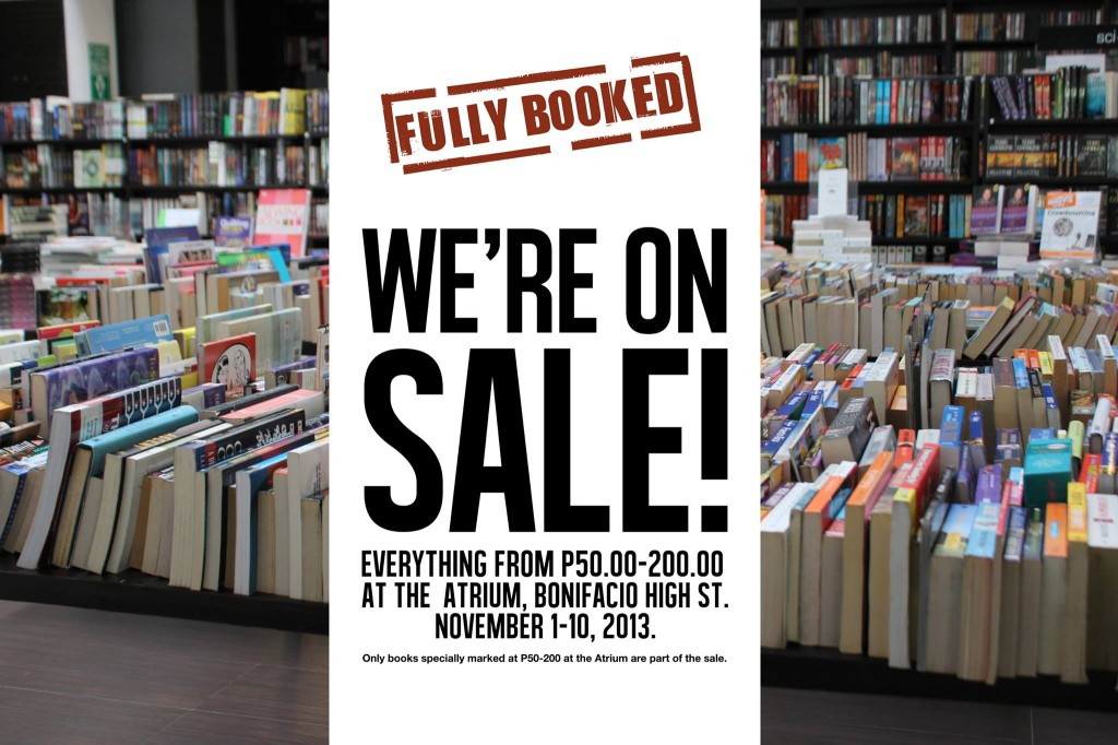 Fully-Booked-Sale-@-Bonifacio-High-Street-November-2013