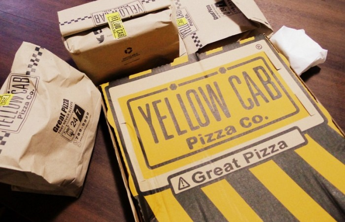 Celebrate Great Times with Yellow Cab Pizza's Christmas Fleet Tango Box