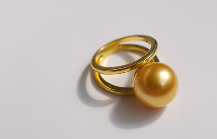 A Bespoke South Sea Pearl Ring