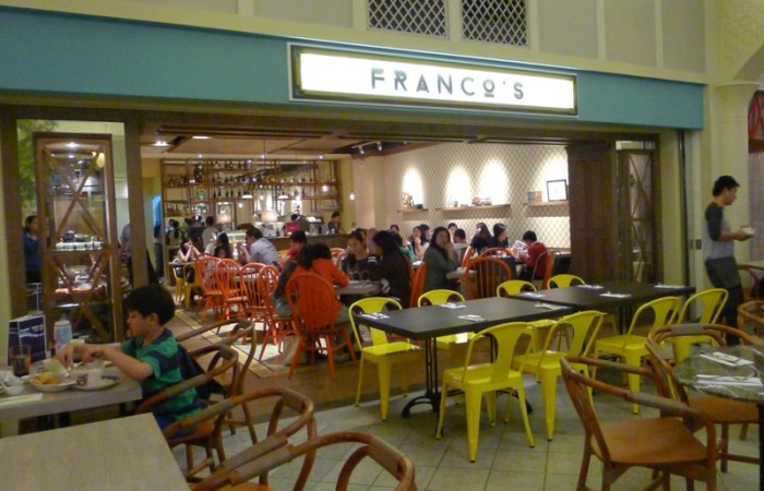 Food Post: Franco's at Rockwell Powerplant