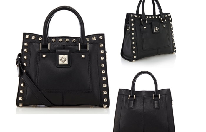 Bag Crush: Karen Millen Studded Leather Box Bag