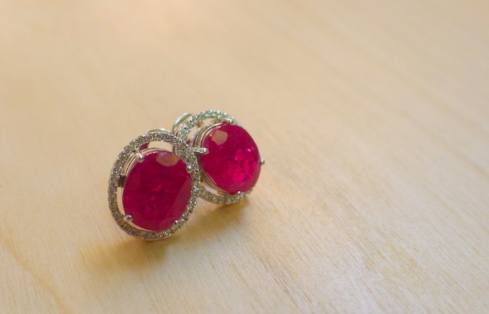 Sparkling Rubies for Valentine's Day