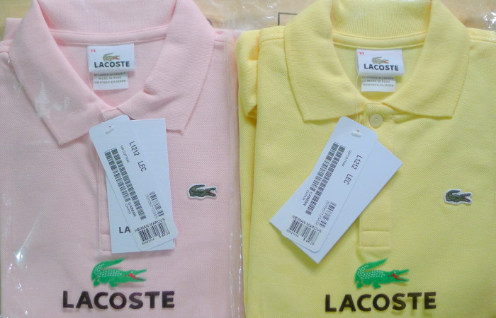 Spotting a Fake Lacoste Shirt