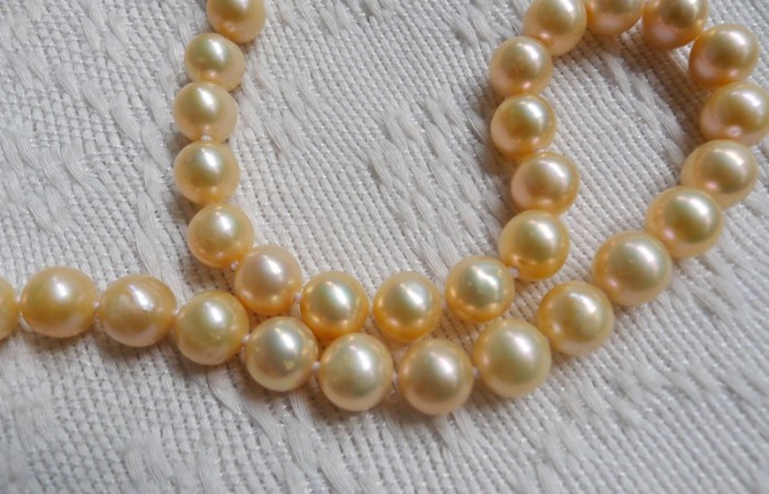 The Bid is On for the Palawan Saltwater Pearl Necklace