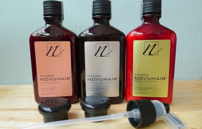 Product Review:  Novuhair 3-in-1 Pack Organic Hair Solution