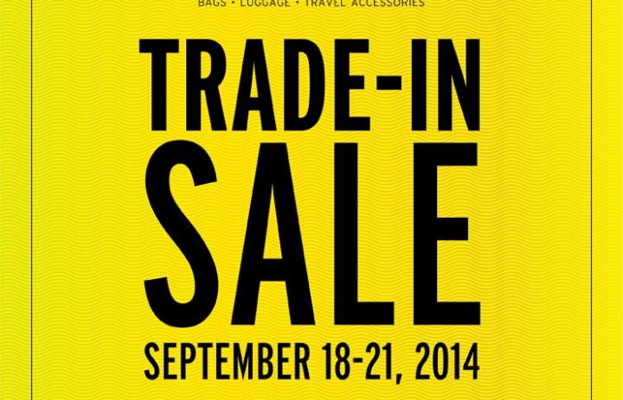 The Travel Club's Trade-In Sale