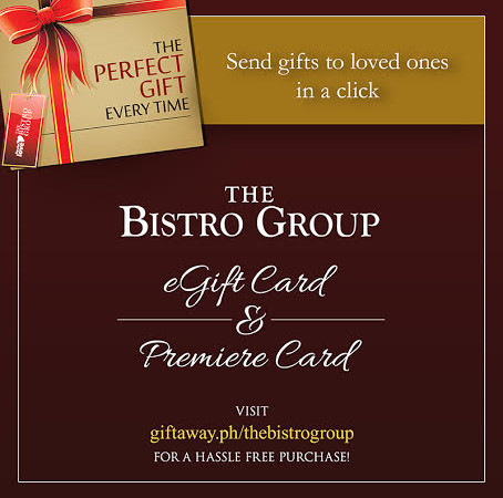 Easy and Yummy: Bistro's E-GC for the Holidays