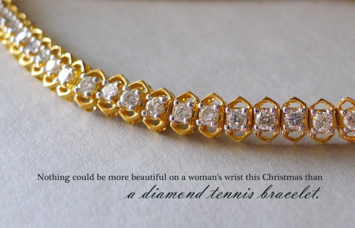The Ultimate Diamond Tennis Bracelet