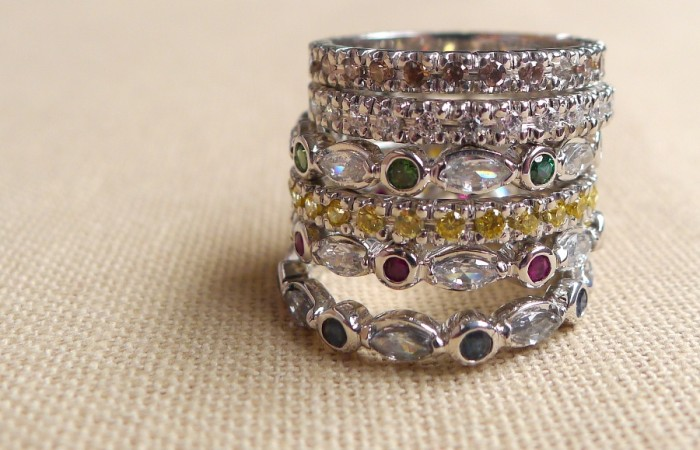 Stackable Perky Rings