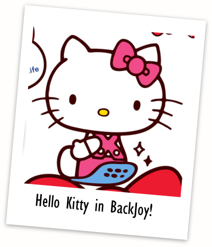 Hello kitty backjoy