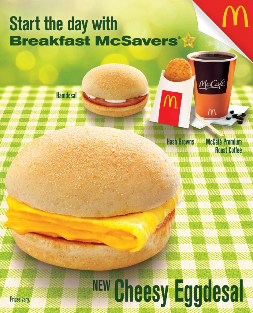 Breakfast McSavers_Cheesy Eggdesal