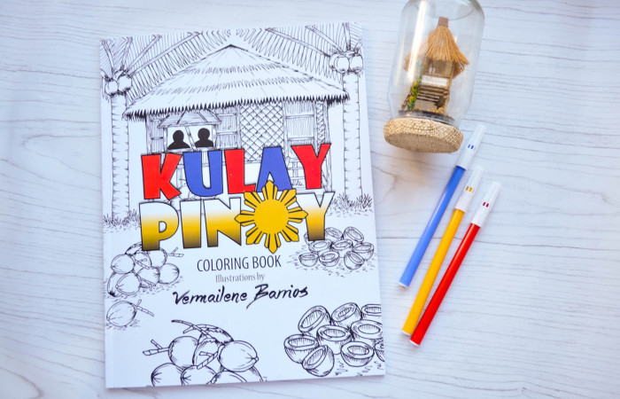 {Giveaway} Kulay Pinoy Adult Coloring Book