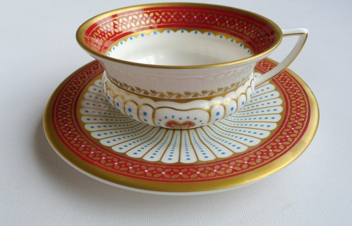 Valentine Teacup: Wedgwood's Queen of Hearts