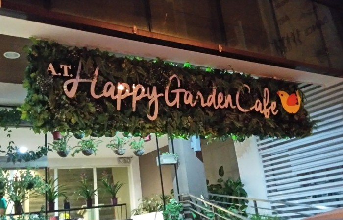 [A.T.] Happy Garden Cafe