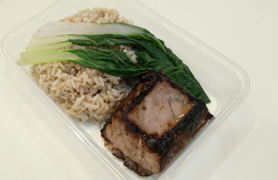 Asian Sesame Tuna Belly with Brown Rice (Lunch)