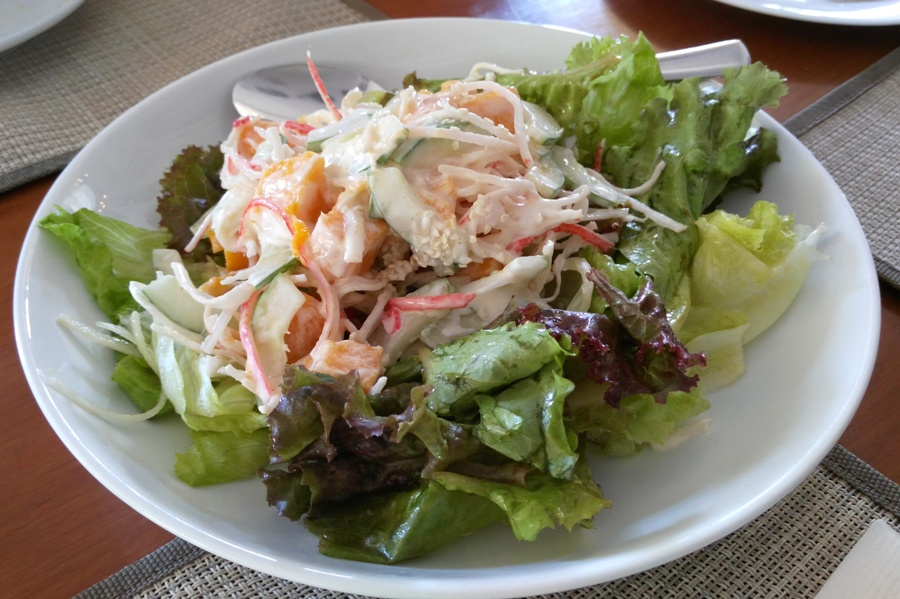 California Salad (Php250.00). Good for sharing.