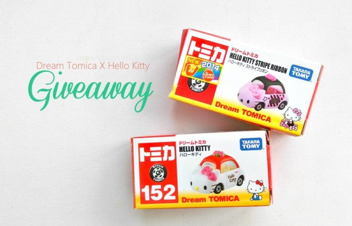 Winner of the Dream Tomica x Hello Kitty Giveaway